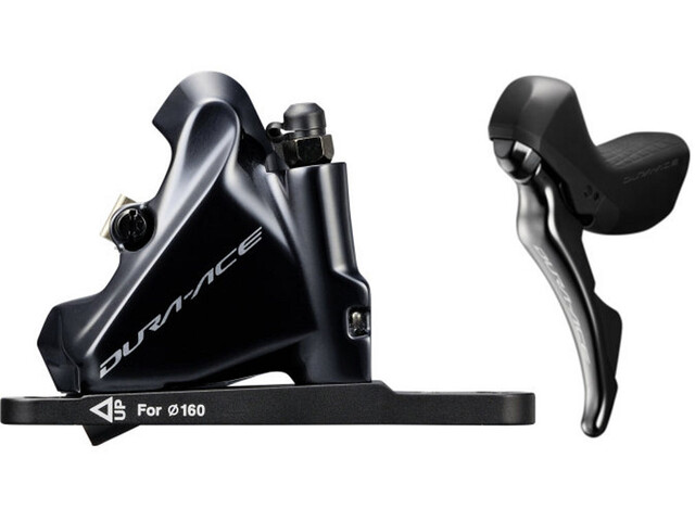 Shimano Dura-Ace Di2 ST-R9180/BR-R9170 Scheibenbremse VR Flat-Mount schwarz